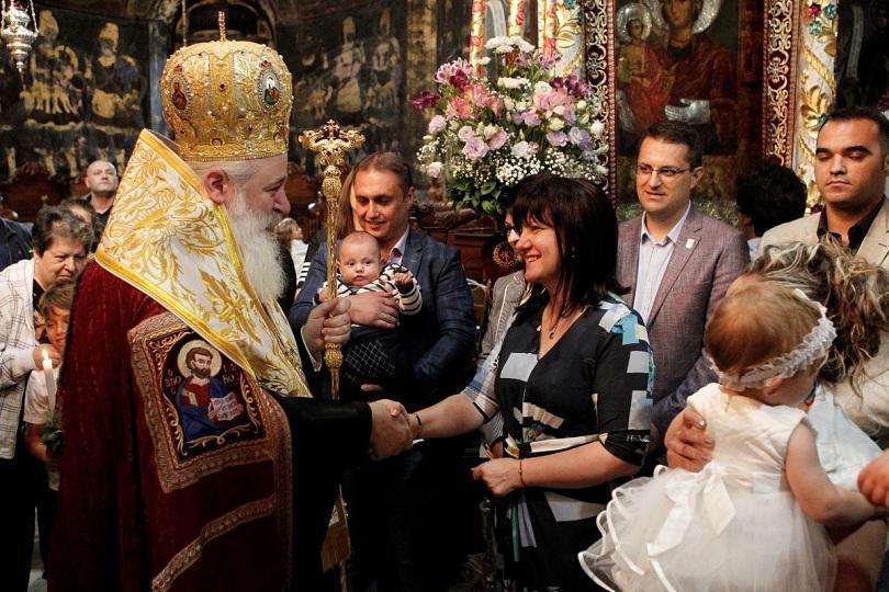 Председателят на Народното събрание Цвета Караянчева присъства на молебена за