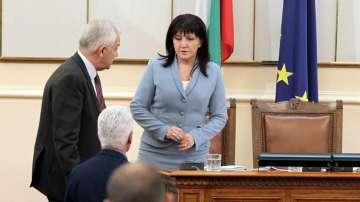 Цвета Караянчева е новият председател на Народното събрание