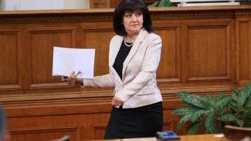 Цвета Караянчева подкрепи Валери Симеонов за зам.-председател на НС