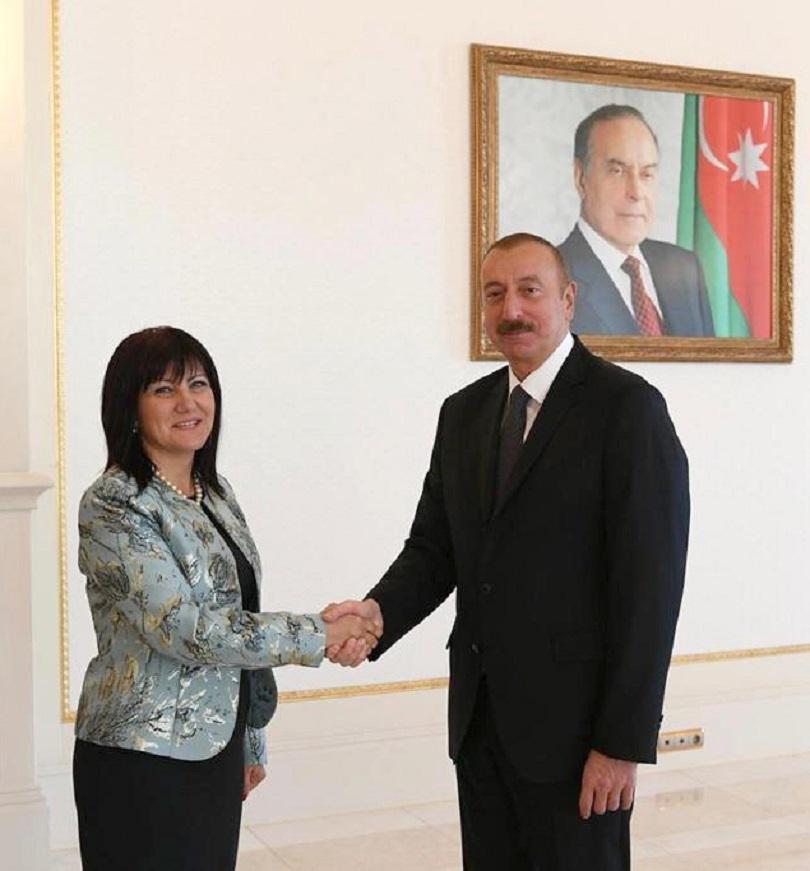 Председателят на Народното събрание Цвета Караянчева се срещна с президента