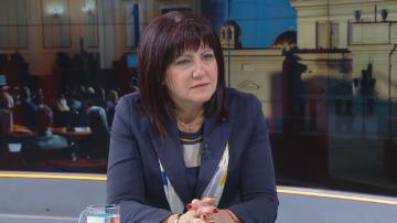 Караянчева: Акциите показват, че не е на мода политическият чадър