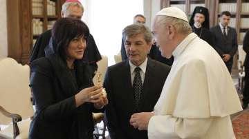 Българска делегация беше приета от папа Франциск за 24 май