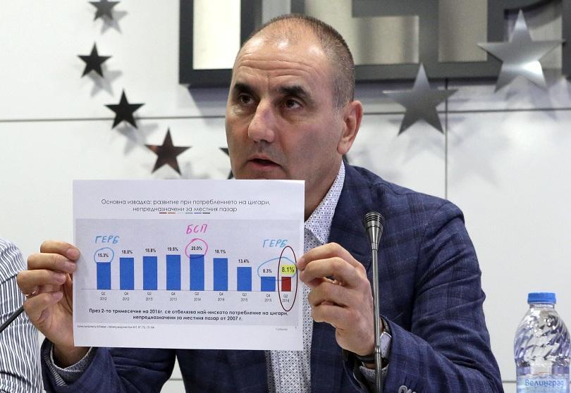 Цветан Цветанов: БСП не могат да са алтернатива на ГЕРБ