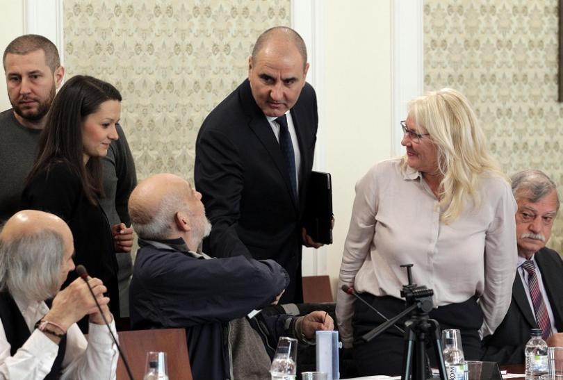 цветанов разчитаме подкрепа комисията досиетата продължи работа