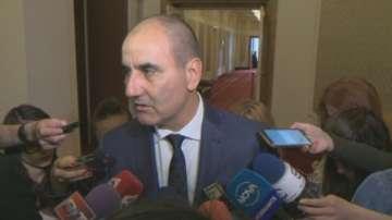 Цветан Цветанов коментира скандала с черновата на декларацията, приета от КСНС