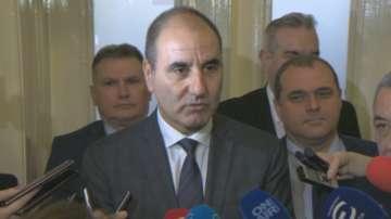 ГЕРБ и ОП обсъждаха ветото на президента в НС