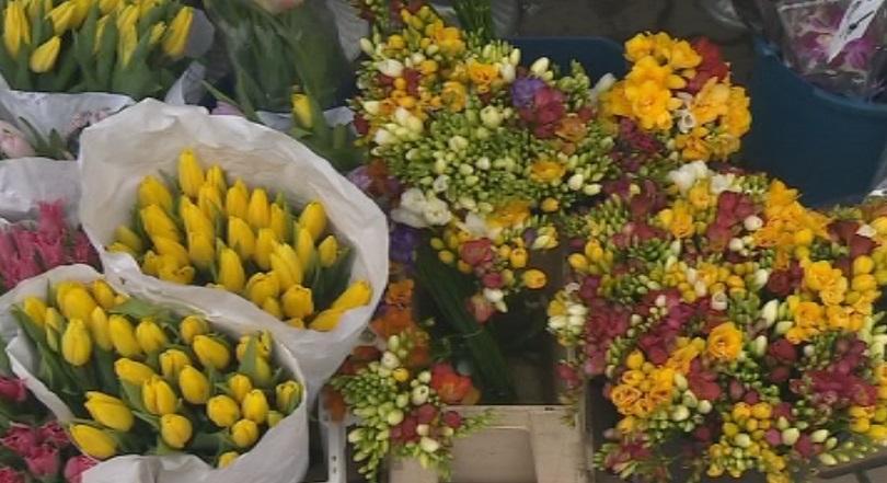 снимка 1 Цветя за дамите на 8-ми март