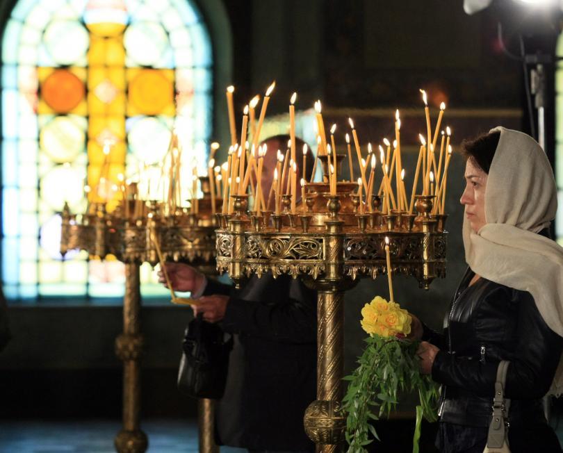 снимка 1 Православните християни празнуват Цветница