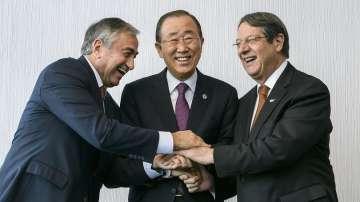 В Швейцария започнаха преговори за повторно обединение на остров Кипър