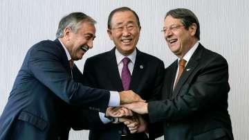 Първо споразумение между кипърските лидери