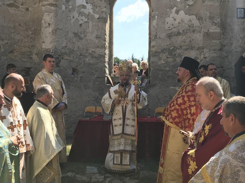 След 56 години прекъсване в Потопената църква отслужиха литургия