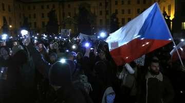 Протести в Чехия срещу оставането на власт на премиера Бабиш