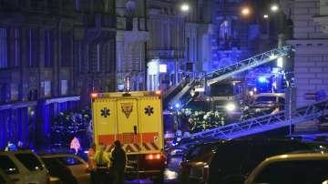 Загиналите от пожара в хотел в Прага станаха трима