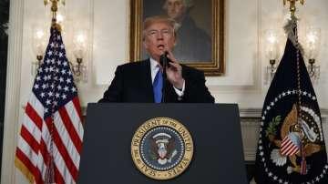 Доналд Тръмп нанесе удар по ядреното споразумение с Иран