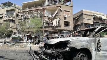 Кола бомба избухна в Дамаск, няма данни за жертви