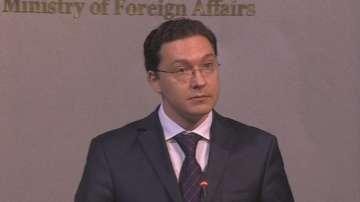 Външният министър Даниел Митов: 2016 трябва да бъде година на действия и решения
