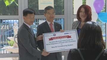 Корейското посолство дари средства на център за социална интеграция