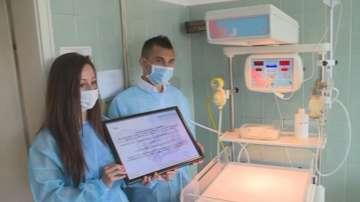 АГ-болницата във Варна получи респираторен апарат с пари от пластмасови капачки