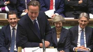 Последен ден на Камерън в парламента