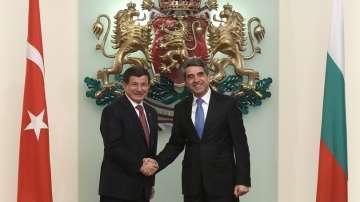 Давутоглу: Отношенията ни с България са с приоритет