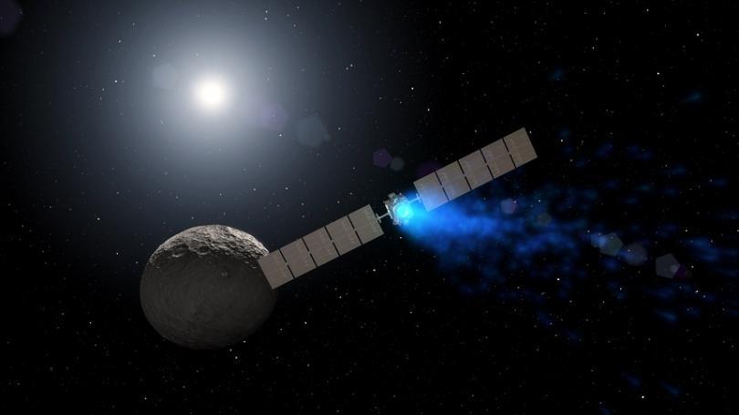 """Сондата на НАСА """"Доун"""", която изследва два от най-големите обекти"""