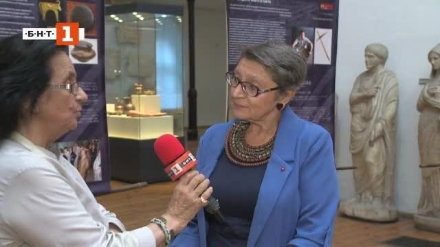 Уникална японска археологическа изложба в Националния археологически музей привлече огромно