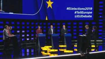 Приключи дебатът на кандидатите за председател на Европейската комисия