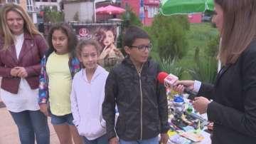 Какво накара пет деца да организират благотворителен базар?