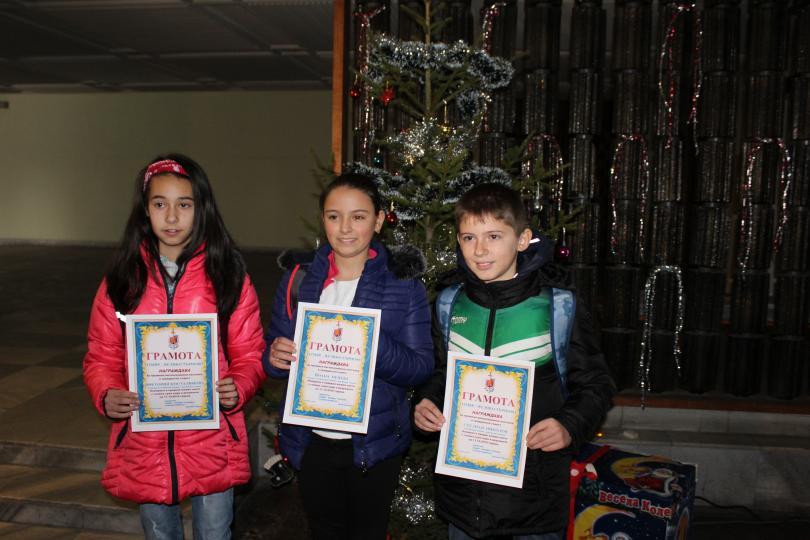 Директорът на ОДМВР - Велико Търново награди трима петокласници за