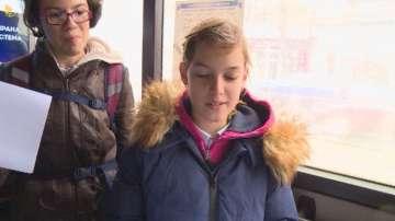 Деца четоха любими български произведения в градския транспорт на Варна