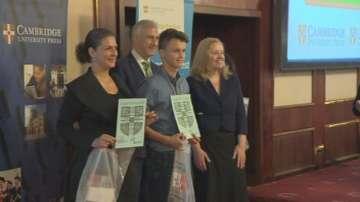 Наградиха победителите в Национално състезание по английски език