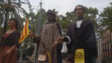 От пратениците на БНТ: Демонстрации в Барселона затвориха някои улици