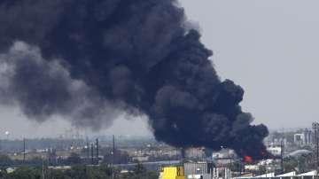 Огромен пожар избухна в предприятие за рециклиране край американския град Денвър