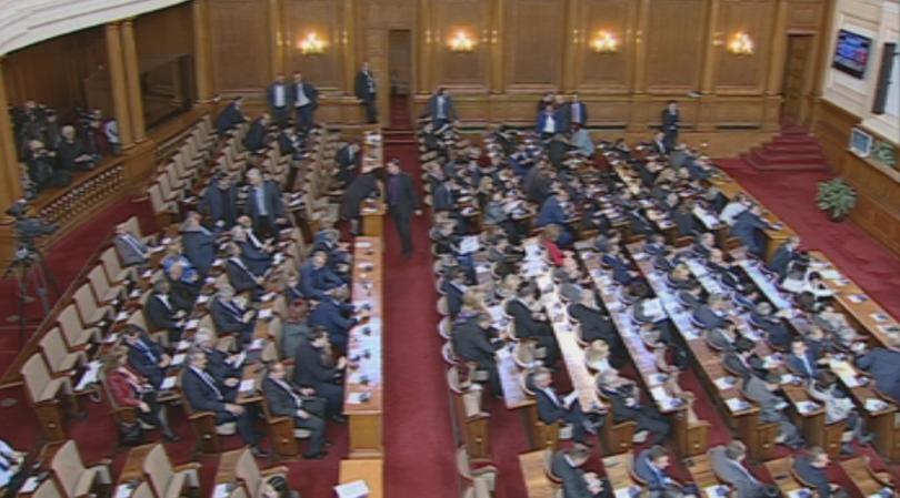 Народните представители обсъждат предложените от премиера Бойко Борисов персонални промени