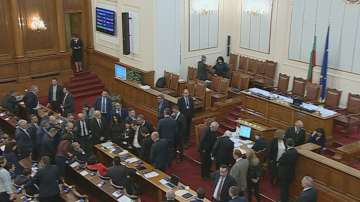 Среднощни скандали в парламента при обсъждането на Бюджет 2018