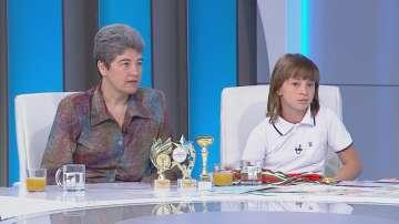 10-годишната Сара има нужда от подкрепа, за да участва в олимпиада по математика