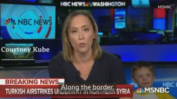 Детето на журналистка се появи в ефир