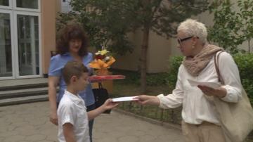 Второкласник получи стипендията от 2000 лева на името на Борислав Канайков