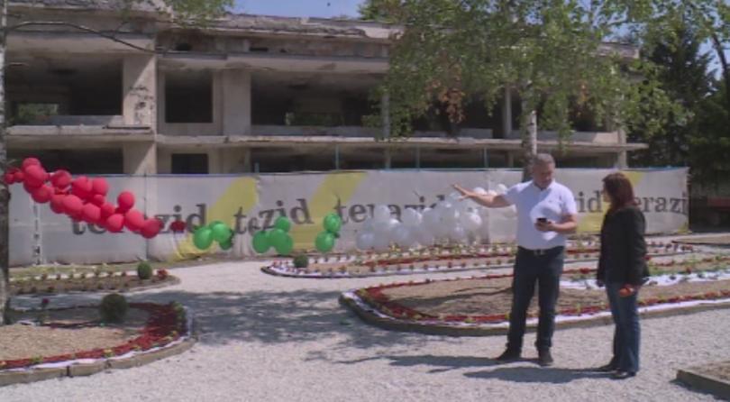 Изоставена и разрушена детска градина в град Бяла, русенско, ще