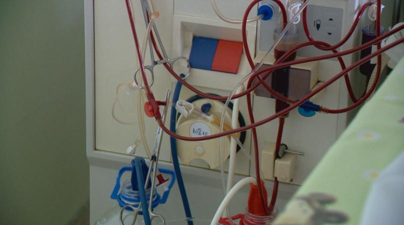 Единственият диализен център в България се намира в клиниката по