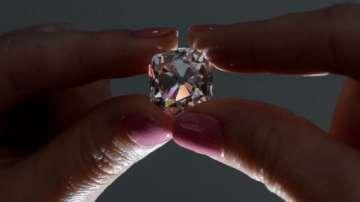 Розовият кралски диамант Мазарен излиза на търг 130 години по-късно
