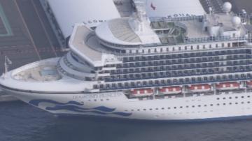 Расте броят на заразените с коронавирус на круизен кораб до бреговете на Япония
