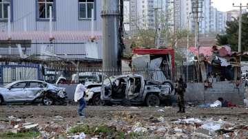 Атентат в Диарбекир (СНИМКИ)
