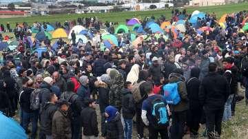 Нови сблъсъци край бежански лагер до Солун