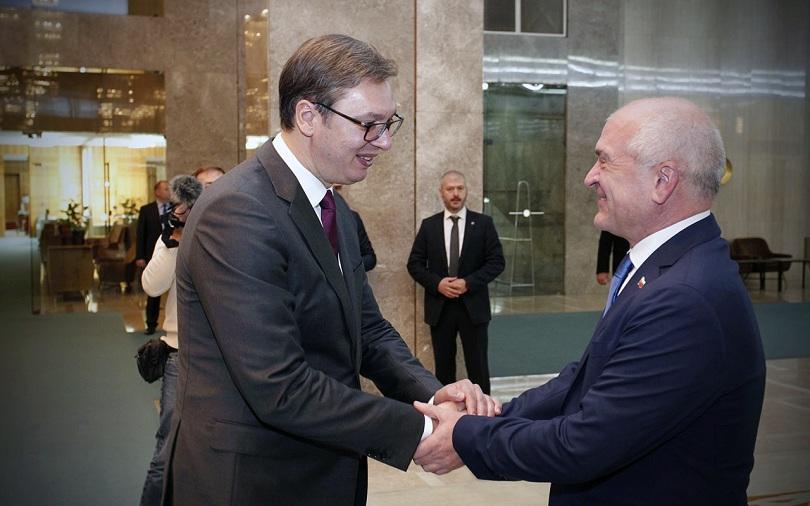 главчев запозна сръбския президент искането връщане името цариброд