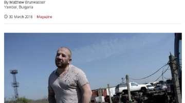 Би Би Си с материал за Динко Вълев - бдителният ловец на мигранти