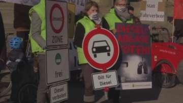Лайпциг може да забрани дизеловите автомобили