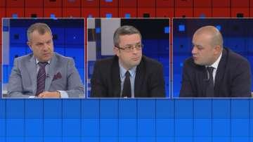 В Още от деня: Тома Биков и Христо Проданов в спор за интервюто на президента