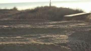 Започнаха втора проверка на унищожените дюни