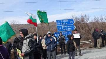 Жители на Джерман блокираха Е-79 заради бъдещото депо за отпадъци
